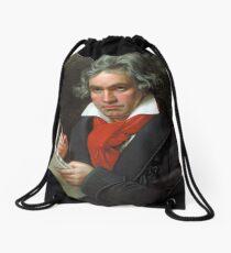 Beethoven Portrait, 1819 Drawstring Bag