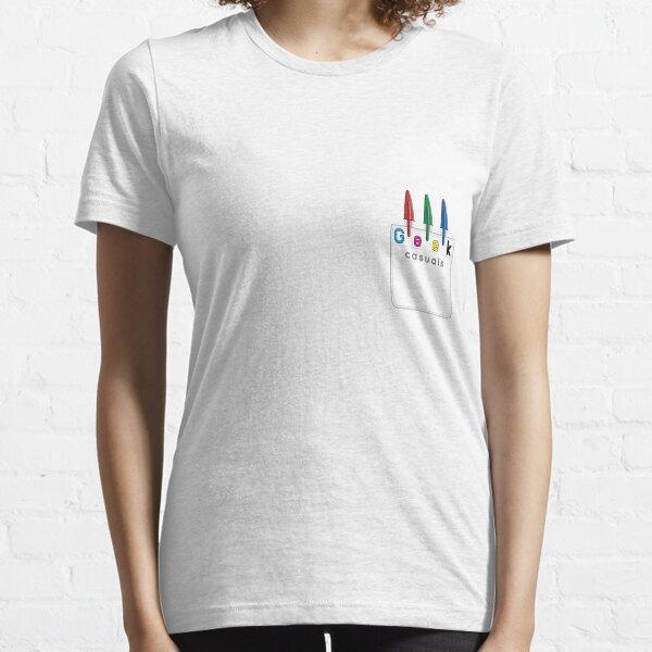 Geek Casuals Logo Tee Essential T-Shirt