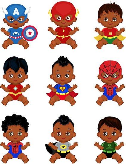 Quot African American Superhero Baby Superhero Multicultural
