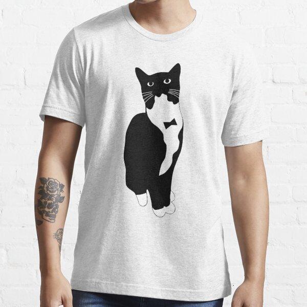 Tuxedo Cat Meme Camiseta esencial