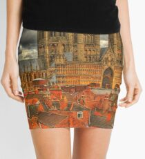 Lincoln Cathedral HDR Mini Skirt