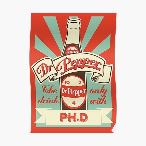 Dr. Pepper Vintage Poster