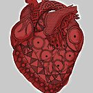My Inupiaq Heart - Red by Rainey Hopson