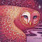 Mystic Owl II by Elisabeth Alba