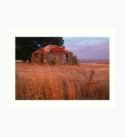 Sunset Glow, Barrabool Hills Art Print