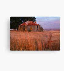 Sunset Glow, Barrabool Hills Canvas Print
