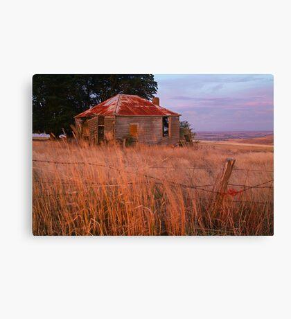Sunset Glow, Barrabool Hills Canvas Print