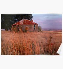Sunset Glow, Barrabool Hills Poster