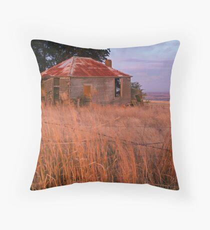 Sunset Glow, Barrabool Hills Throw Pillow