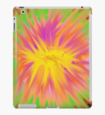 Popping colors iPad Case/Skin