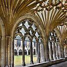Canterbury Cathedral courtyard by Richard Majlinder