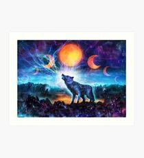 The Magic Howl Art Print
