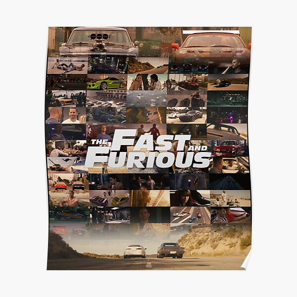 Fast & Furious - Legends - Tribute Poster