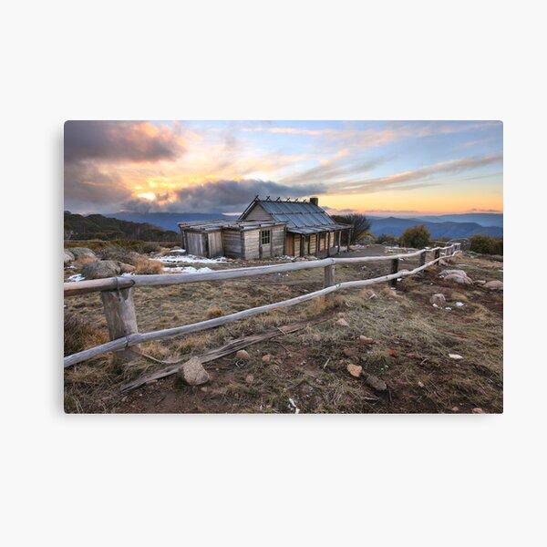Craig's Hut, Mt Stirling, Australia Canvas Print