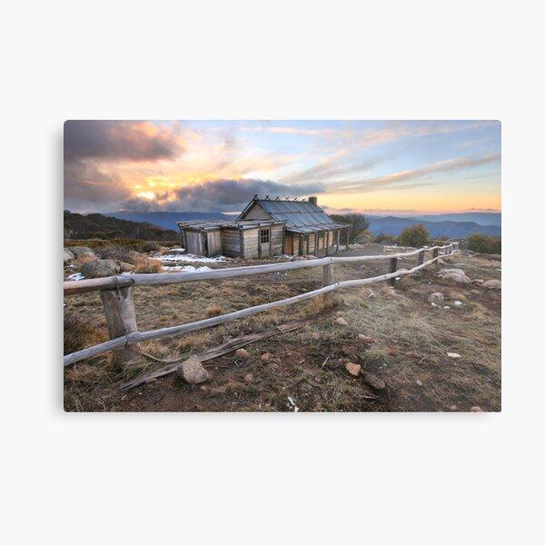 Craig's Hut, Mt Stirling, Australia Metal Print