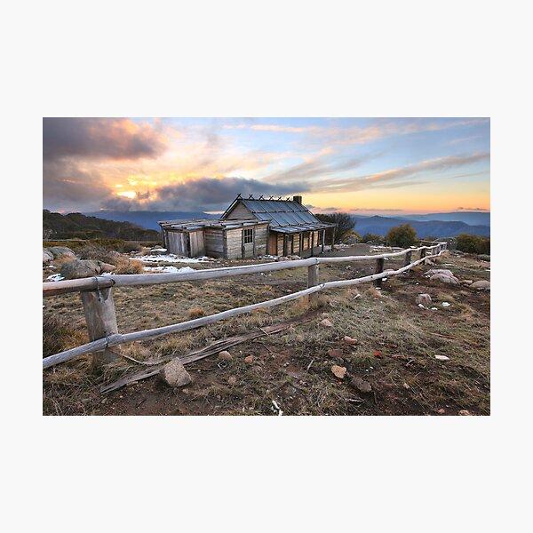 Craig's Hut, Mt Stirling, Australia Photographic Print