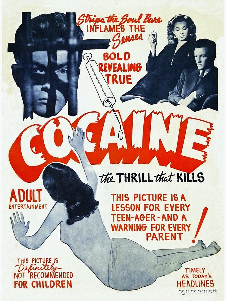 Cocaine Vintage Ad by sgmcdermott