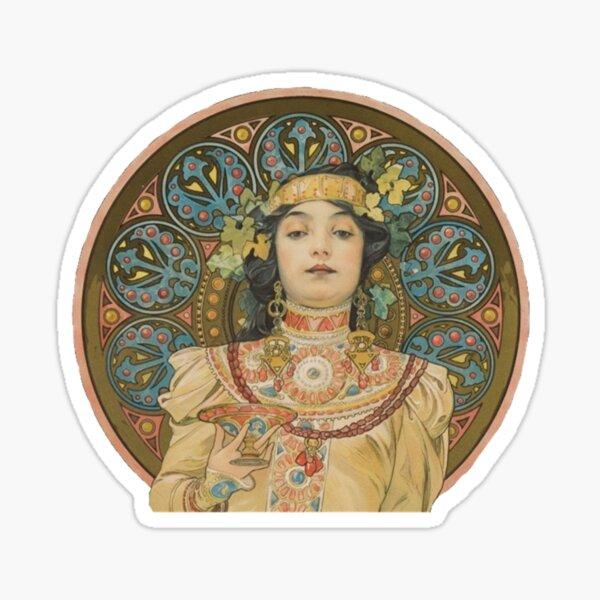 «Chandon Cremant Imperial» de Mucha Sticker