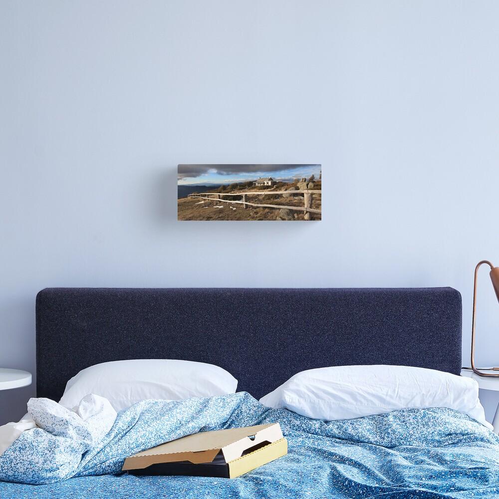 Craig's Hut, Winter Afternoon, Mt Stirling, Australia Canvas Print