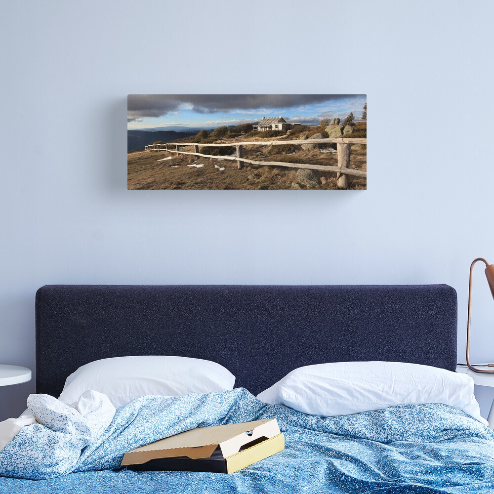Craig's Hut, Winter Afternoon, Mt Stirling, Australia Canvas Print