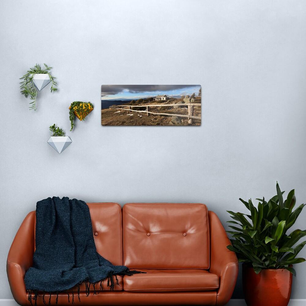 Craig's Hut, Winter Afternoon, Mt Stirling, Australia Metal Print