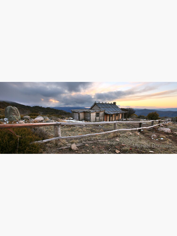 Craig's Hut Winter Evening, Mt Stirling, Australia by Chockstone