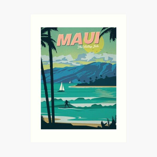 Maui Art Print
