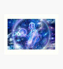 Galactic alchemist Art Print