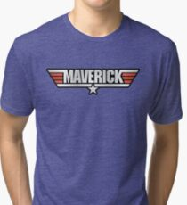 Top Gun Maverick Tri-blend T-Shirt