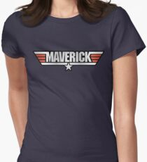 Top Gun Maverick Womens Fitted T-Shirt