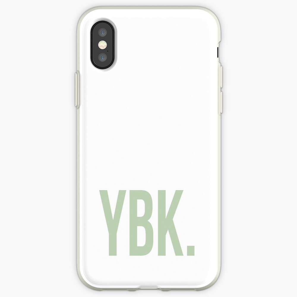 YBK-Jahrbuch Grün iPhone-Hülle & Cover