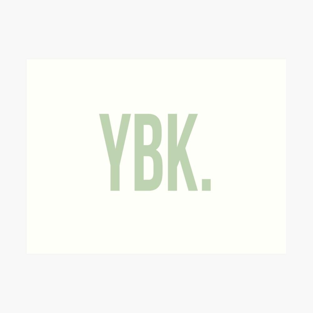 YBK-Jahrbuch Grün Kunstdruck