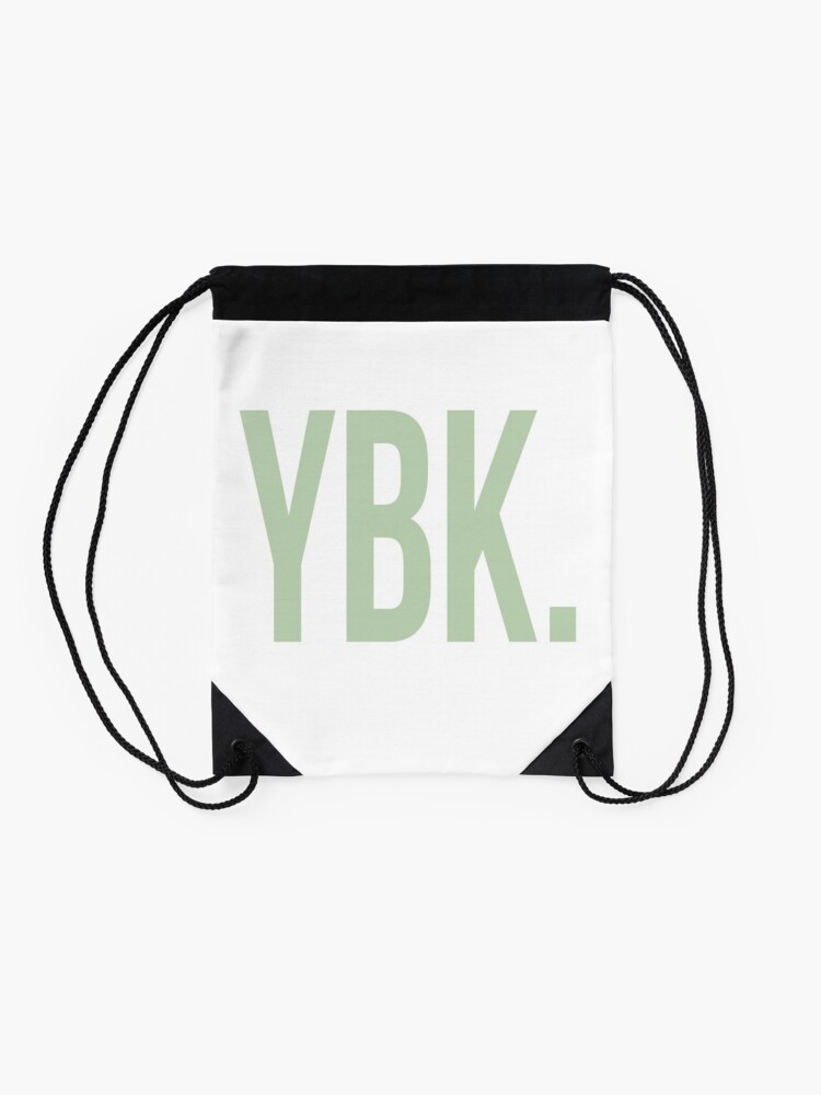 Alternative Ansicht von YBK-Jahrbuch Grün Turnbeutel
