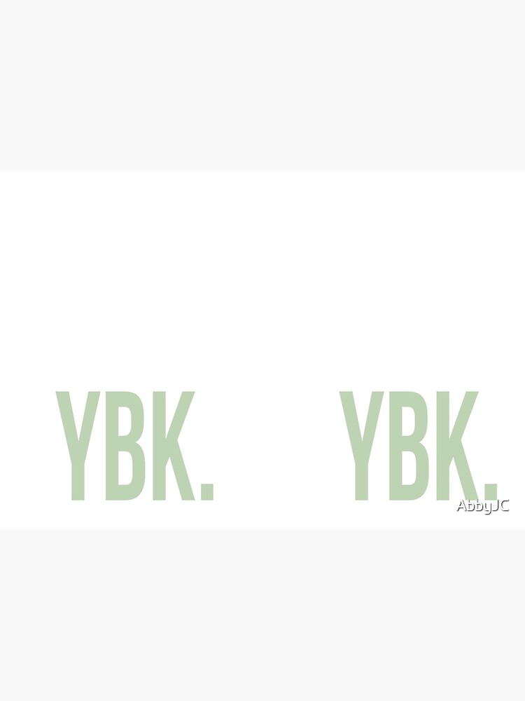 YBK-Jahrbuch Grün von AbbyJC