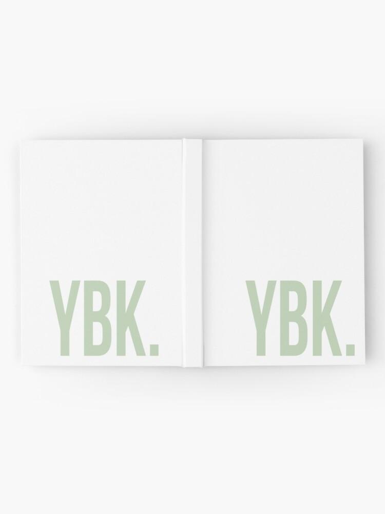 Alternative Ansicht von YBK-Jahrbuch Grün Notizbuch