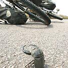 He is ready to kill my bike. by Rune Monstad