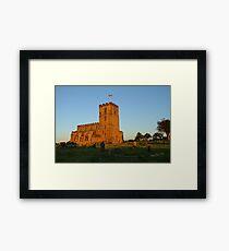 Breedon on the Hill Church Framed Print