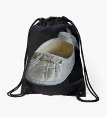 The Christening Shoe Drawstring Bag