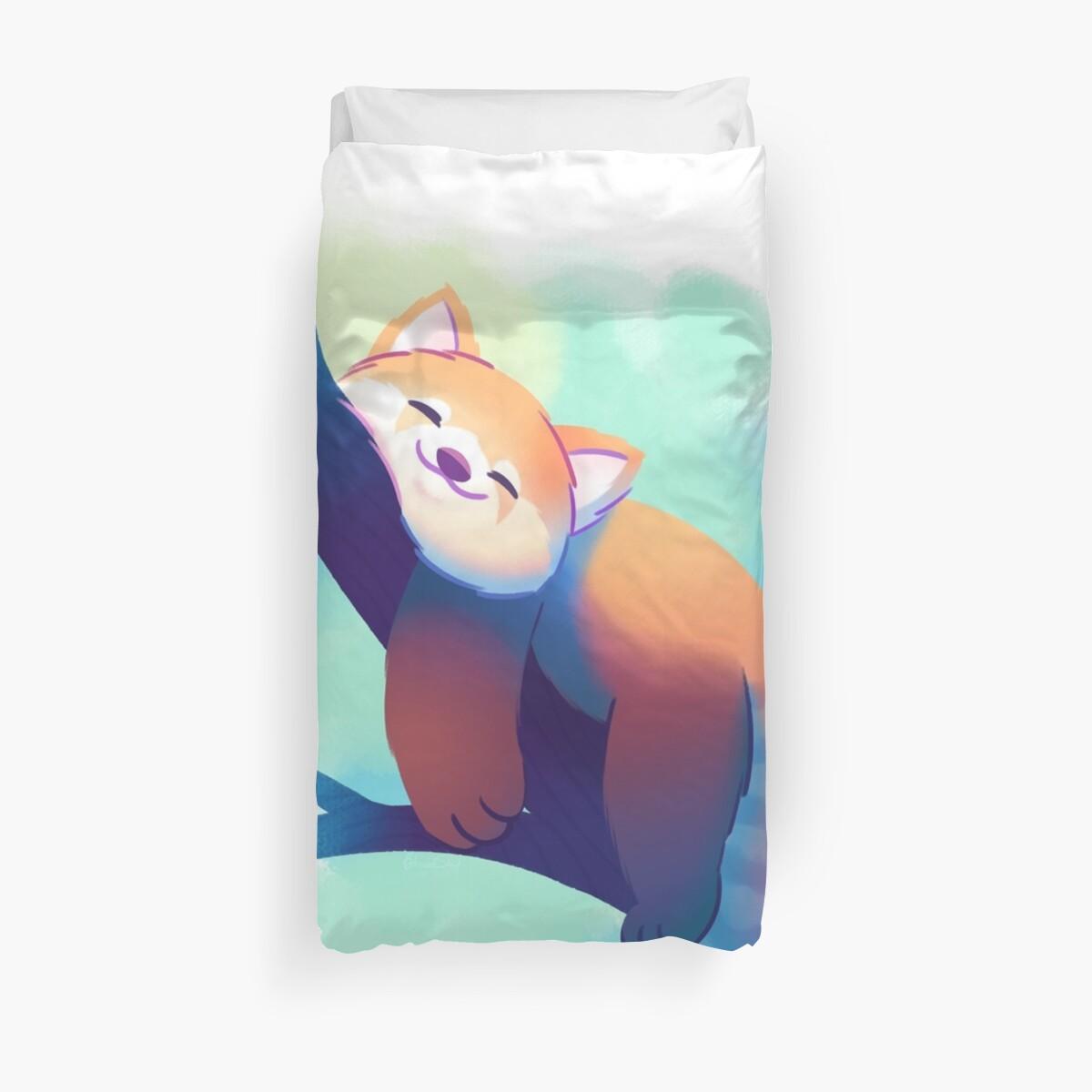 Träumender roter Panda von BytesizedShorts