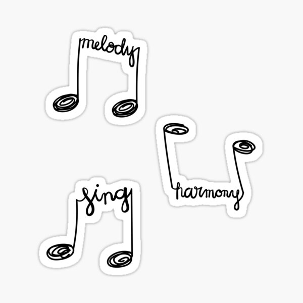 Harmony Stickers Redbubble