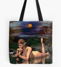 Tranquil Is The Night Tote Bag