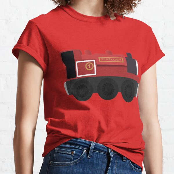 Skarloey - Wooden Train Toy  Classic T-Shirt