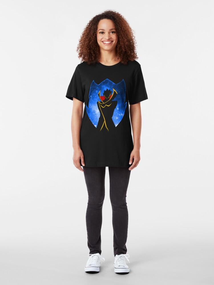 Alternate view of Zero - Code Geass Slim Fit T-Shirt