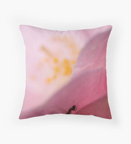The Ant Throw Pillow