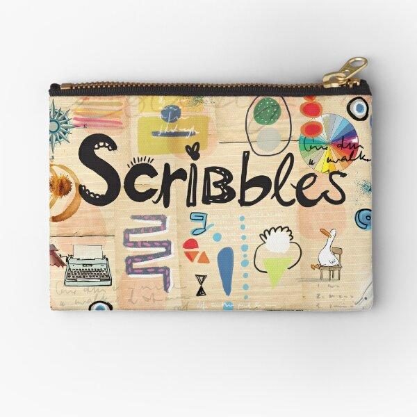 Scribbles! Zipper Pouch