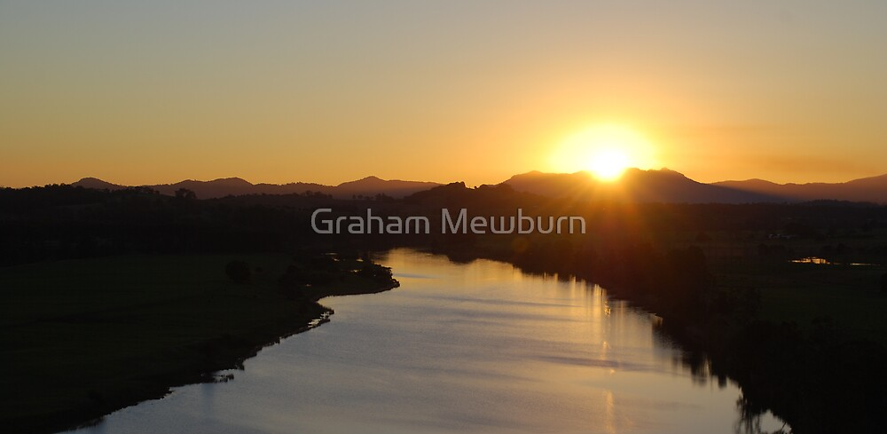 Mighty Manning Sunset by Graham Mewburn