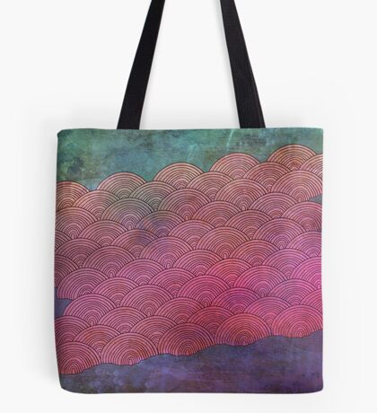 Bruised Clouds Tote Bag