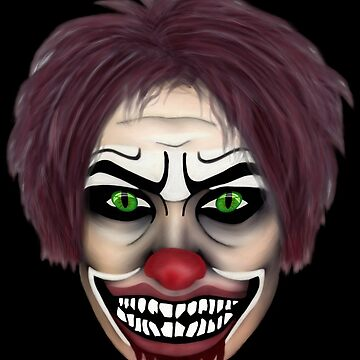 evil clown by BURPdesigns