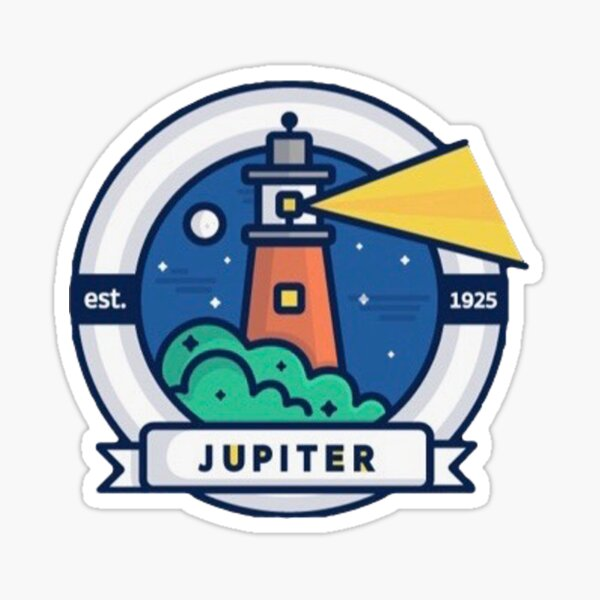 Light House Logo (Jupiter, Florida)  Sticker