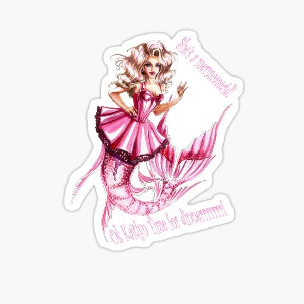 Miz Mattel Mermaid Sticker